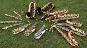Saxofoonorkest Karl Veen @ Kerkje Sandfirden
